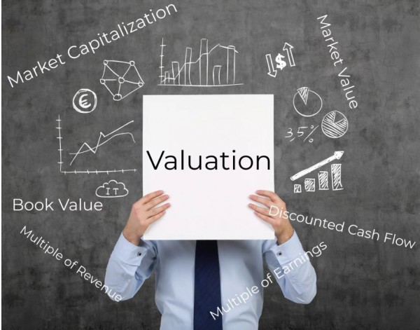 Valuation chalk board